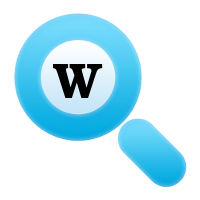 word definition logo